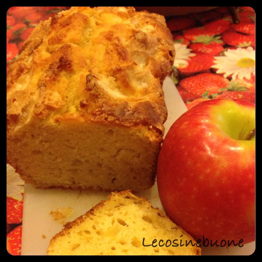 Plumcake alle mele e zucchero di canna (1/5)