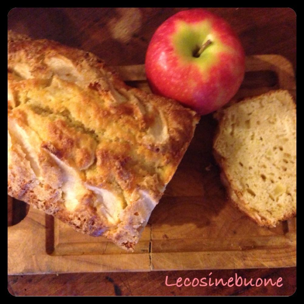 Plumcake alle mele e zucchero di canna (2/5)